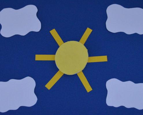 Sonne basteln