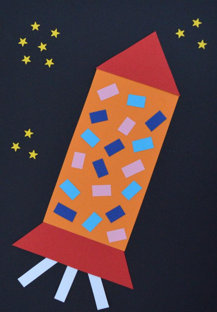 Bildergebnis für rakete basteln