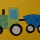 Traktor basteln