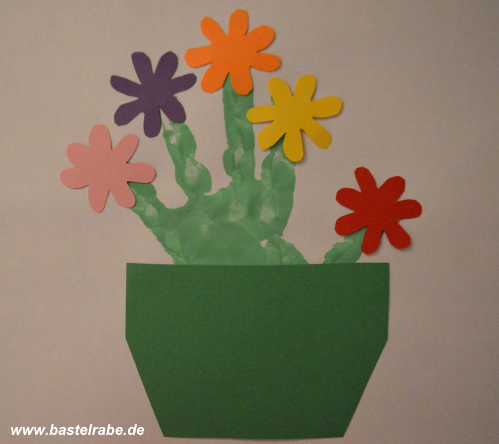 Blumentopf basteln