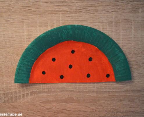 Melone basteln