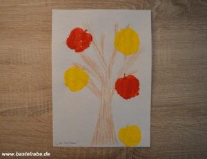 Äpfel stempeln