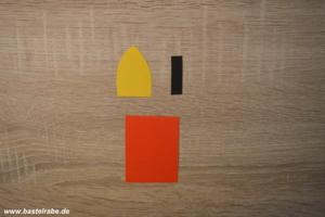 adventskranz basteln aus einem pappteller zum. Black Bedroom Furniture Sets. Home Design Ideas