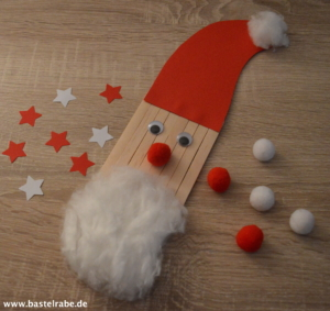 Weihnachtsmann basteln
