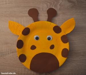 Giraffe basteln