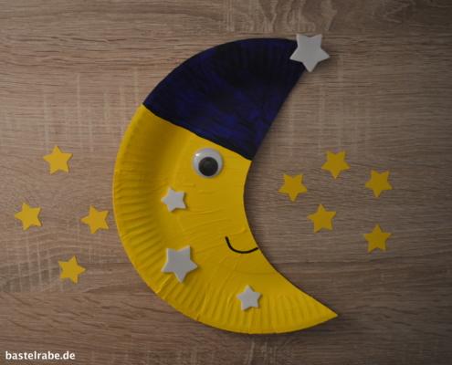 Mond basteln