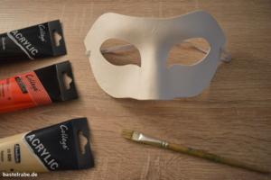 Maske basteln